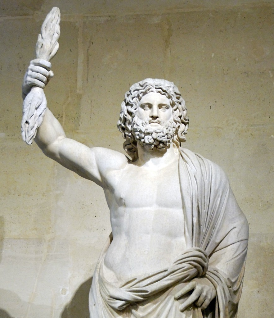 статуя Юпитера Лувр