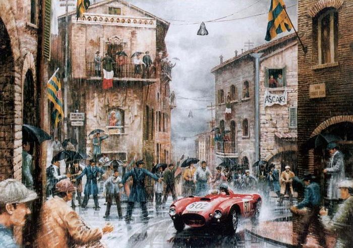 Автомобиль в живописи - Карлос Фериньо