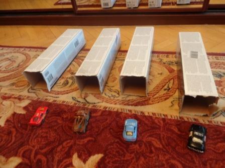 Игры с машинками - гаражи