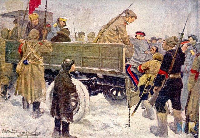 Автомобиль в живописи - Иван Владимиров