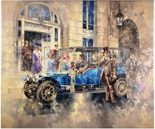 Автомобиль в живописи - Питер Миллер
