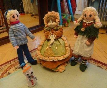 Снежная Королева кукла