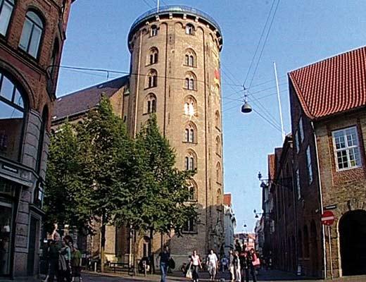 круглая башня Копенгаген