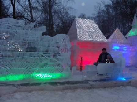 Ледяной дворец Снежной Королевы