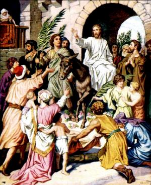 Праздник вербное воскресение